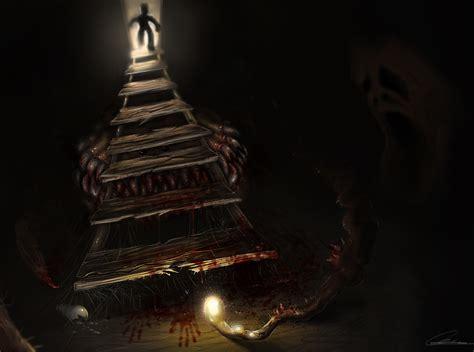 the basement by d4rkharlequin on deviantart