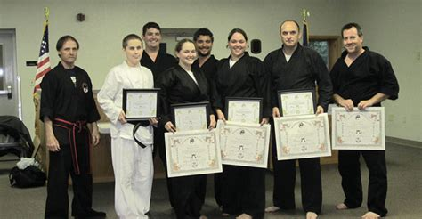 Karate Promotion Letter karate students promoted to black belt in stephentown