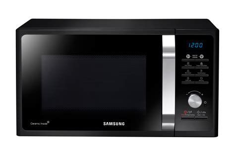 Microwave Oven Samsung Me731k samsung ms23f301eak silver microwave 23 litres