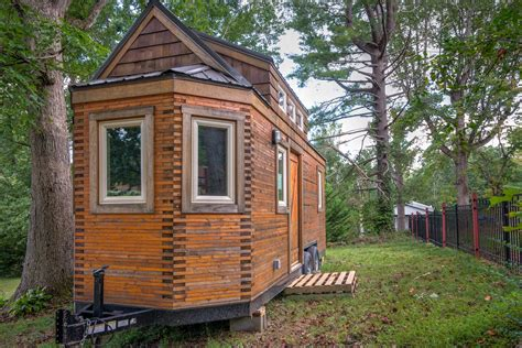 beeming bee tree tiny house  asheville  sale
