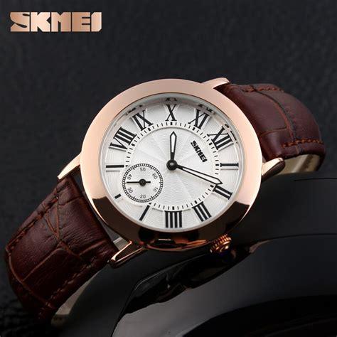 Skmei Cl 1083 Jam Tangan Wanita skmei jam tangan analog wanita 1083cl coffee