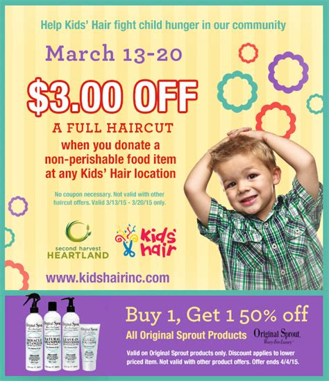 holiday hair coupons 7 99 hair birthday coupon kids haircut coupon discounts for
