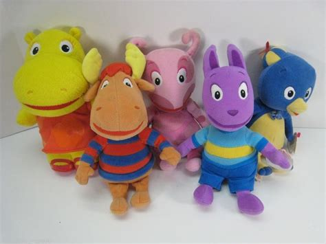Backyardigans What Of Animals Are They Ty Beanie The Backyardigans Pablo Tyrone