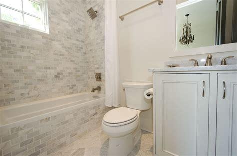 tiled bathtub surround carrera marble tub surround design ideas