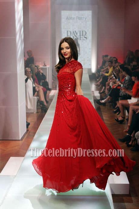 miranda kerr red prom dress david jones spring summer 2012 david jones formal dresses