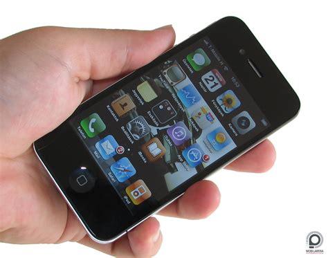 Apple Four apple iphone 4 a t 233 rer蜻 legyen vele mobilarena okostelefon teszt