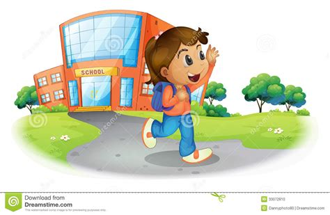 a going home from school stock photo image 33072810