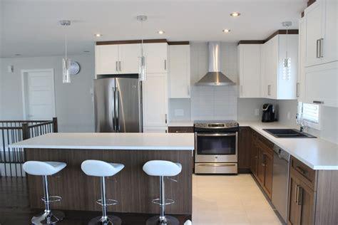 cuisine melamine blanc armoires de cuisine en polyester et m 233 lamine cuisines despro