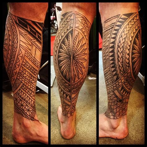 leg tattoos for men gallery traditional tribal www pixshark