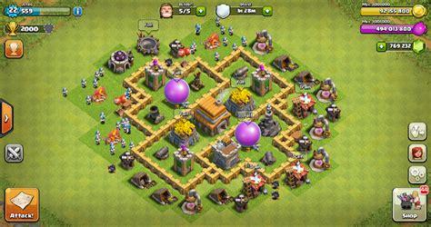 layout coc th 8 yang bagus thropy base clash of clans th 5 terbaru design base