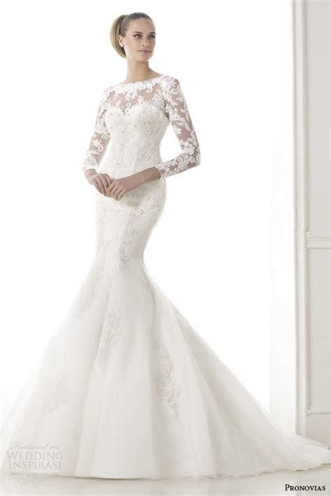 pronovias 2015 pre collection wedding dresses glamour