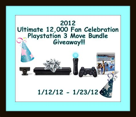 Playstation 3 Giveaway - playstation 3 move bundle giveaway 171 171