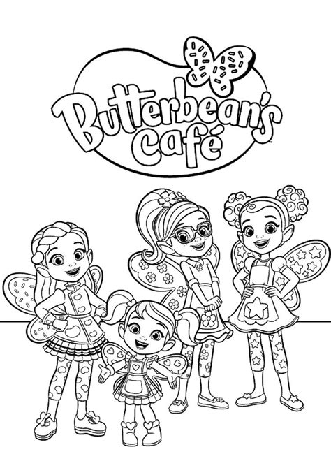 butterbeans cafe employees high quality  coloring