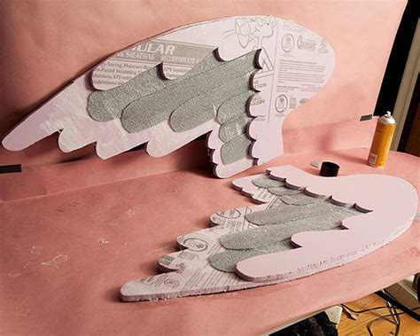How To Make Paper Wings For A Costume - how to make weeping costumes costuming tutorial