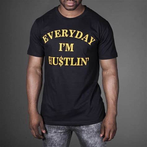 T Shirt Rick Ross rick ross everyday i m hustlin t shirt wehustle