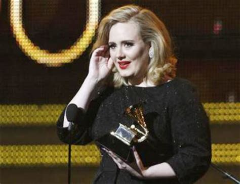 adele early photos adele wins three early grammys music chinadaily com cn