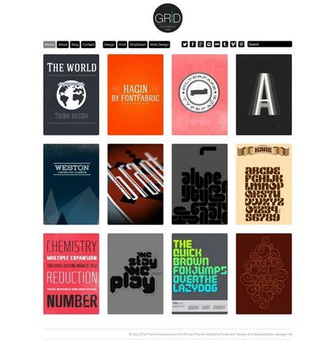 wordpress themes free grid portfolio 28 free portfolio wordpress themes april 2015
