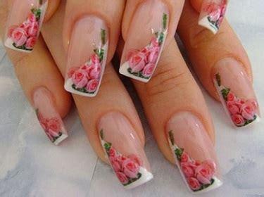 fotos uñas decoradas flores sencillas mujer estilo y belleza u 241 as decoradas con dise 241 os de