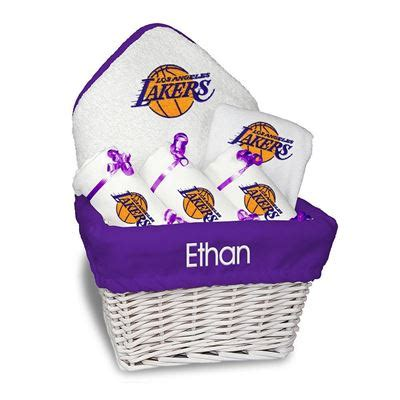 best gifts for lakers fans personalized los angeles lakers medium gift basket nba