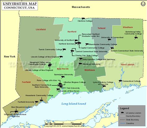 lincoln college ct list of universities in connecticut map of colleges and