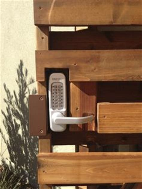 backyard gate lock wood fence with gate 503 760 7725 fence superiorfence