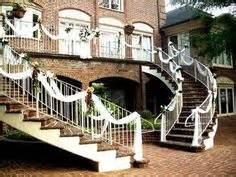 how to decorate a deck for a wedding 1000 images about wedding stairs decor on