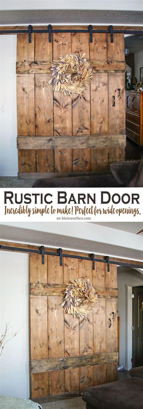 wide barn doors wide rustic barn door kleinworth co