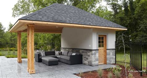 pool shed outdoor pool house cabana backyard pinterest pool