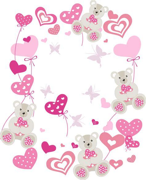 imagenes de flores y corazones infantiles corazones para imprimir y decorar
