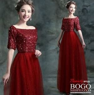 Longmaxi Aster Benhur model baju dress maxi gaun pesta panjang aplikasi payet cantik terbaru