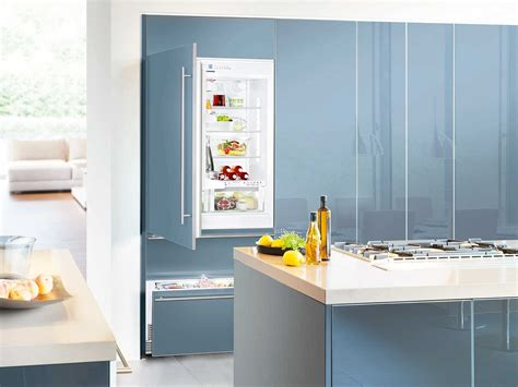 Charming Kitchen Refrigerator Sizes Ideas Impressive Built In And Integrated Refrigerator On Kitchen Cabinet Designs Kitchen