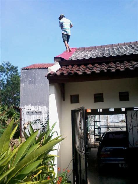 Karpet Talang Genteng mengatasi atap bocor efri ritonga