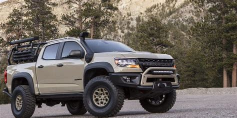 2020 Chevrolet Colorado Zr2 by 2020 Chevrolet Colorado Zr2 Bison Price Specs Interior