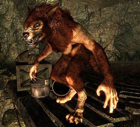 request sos textures for feminine argonian and khajiit la femme lycana female werewolf body at skyrim nexus