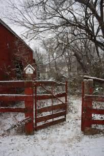 barn rojo 03 torreones casitas de pajaros nieve invierno y caba 241 as