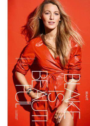 blake lively elle magazine france june 2016 15 jun 2016 blake lively elle france magazine june 2016