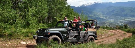 Jeep Adventures Vail Valley Jeep Atv Tours A Rentals