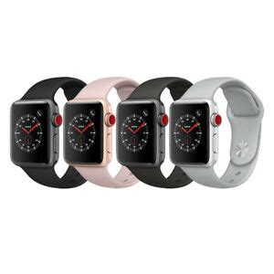 Apple Series 4 38mm Gps Cellular by Apple Series 3 Gps Cellular Aluminum 38mm With Sport Loop Or Band Ebay