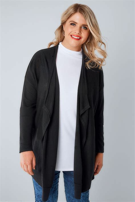 Special Cardi Basic 3tone Pink Cardigan 0109 black knitted waterfall cardigan plus size 16 to 36