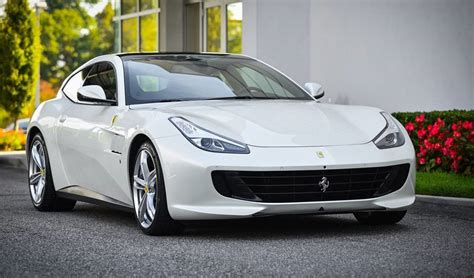 cars ferrari white white ferrari gtc4lusso arrives at ferrari of long island