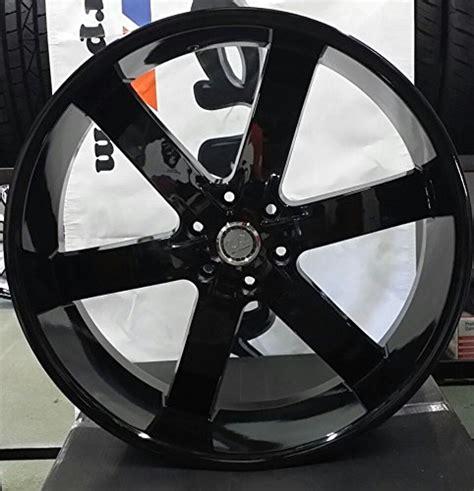 United Tires Oshaka 26 Inch Black by 26 Quot Inch U2 55 Wheels Rims Gloss Black Rims Wheels Set Of