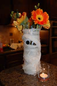 halloween flower arrangements quot mummy quot flower arrangement halloween pinterest