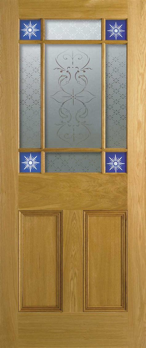 Interior Glazed Doors Uk 4 Panel Malton Nostalgic Oak Doors