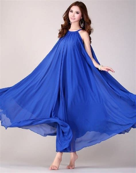Blue Dress For Baby Shower by Boho Maternity Maxi Dress Baby Shower Dress Royal Blue