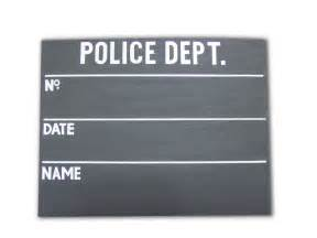 Mugshot Template by The Gallery For Gt Mugshot Sign Template