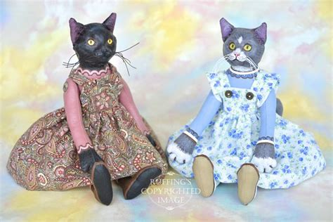 Cat Doll by And Triplets Elizabeth Ruffing S And Studio
