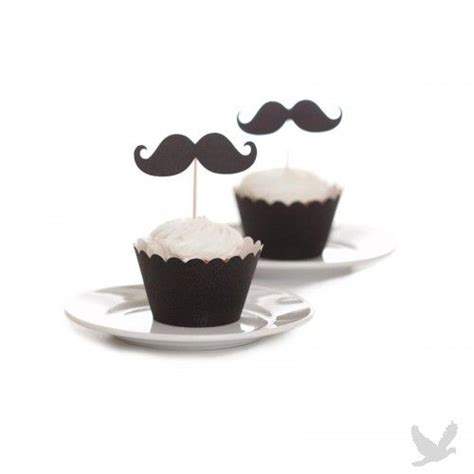 Mustache Cake Toppers   Birthday, Showers, Wedding Parties