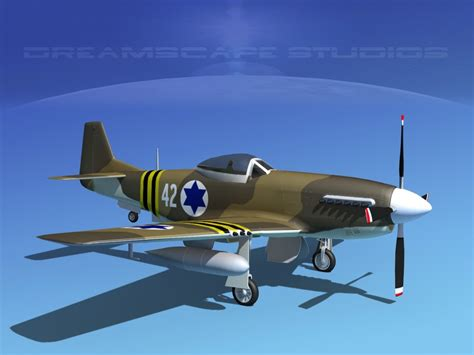 P 51 Mustang Autocad by Dwg P 51d