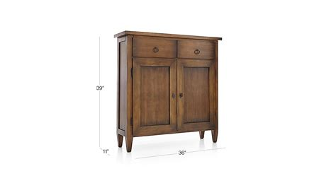 stretto varentone entryway cabinet crate and barrel stretto nero noce cabinet crate and barrel