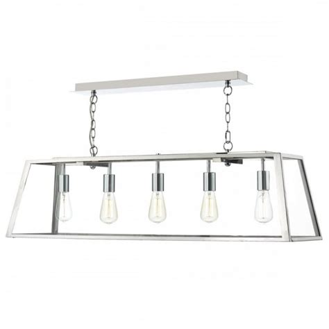 Light In The Box Pendant Lights Light Fitting For Table And Islands Chrome Linear Glass Box Light